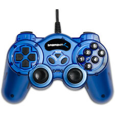 Sabrent 12 Button Programmable Plug & Play USB 2.0 Game Controller For PC