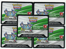 Pokemon Card TCGO XY BREAKTHROUGH x21 ONLINE BOOSTER CODES *Emailed - FREE*