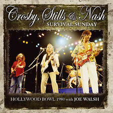 CROSBY STILLS & NASH w JOE WALSH New Sealed 2016 UNRELEASED LIVE 1980 CONCERT CD