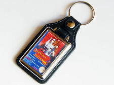 MEGA MAN 2 Nintendo NES Cover Art Quality Chrome And Leather Keyring