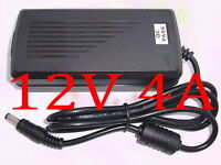 AC 100V-240V Converter Adapter DC 12V 4A 48W Power Supply Charger DC 5.5mm New