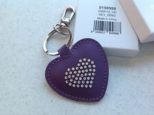 SCS Swarovski 2015 HEART KEY RING EXCLUSIVE