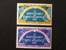 REPUBBLICA 1953 PATTO ATLANTICO SERIE  NUOVA MNH**