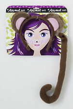 Kids Monkey Kit  Ears and Tail  Chimp Set  Zoo Animal