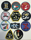 New Official NASA Space Program Gemini Patch Emblem Set Made In USA Armstrong