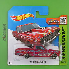HOT WHEELS 2015 -  ´65 Ford Ranchero -  HW Workshop  -  212  -  neu in OVP