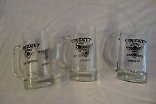 Set of 3 Bowling Themed Beer Mugs Steins 500 and 550 Series Vintage Retro
