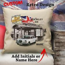 PERSONALISED  WOLSLEY SIX CLASSIC CAR Cushion Cover Dad Gift