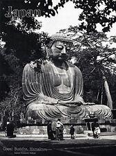 Viajes Turismo Japón gran estatua de Buda Kamakura Budismo Templo Cartel lv4197