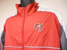 Reebok NFL Tampa Bay Buccaneers Unlined Windbreaker Jacket  Size XL