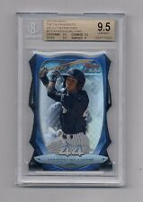 MASON WILLIAMS 2013 BOWMAN TOP 100 DIE CUT REFRACTOR RC #8/99 BGS 9.5 GEM MINT