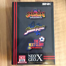 Neo Geo X:   classics vol 2 ( SAMURAI SHODOWN 3 + SAVAGE REIGN + THE NEXT GLORY)