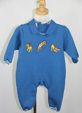 DISNEY STORE Lion King Simba 1 One Piece Long Sleeve Romper Warm Baby 3 mon