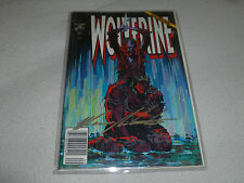 WOLVERINE COMIC SIGNED AUTOGRAPHED MARK SILVESTRI WRITER 1991 #43 MARVEL AUTO
