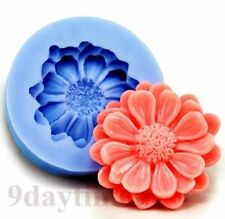 Pom Pom Chrysanthemum Silicone Mold For Crafts Polymer Clay Jewelry 34mm A303