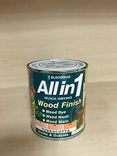 Blackfriar All in 1 Quick Drying Interior/Exterior Wood Finish Terracotta 500ml