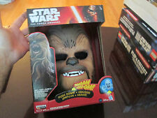 Chewbacca Electronic Mask Star Wars  The Force Awakens YouTube ORIGINAL NEW RARE