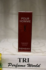 YSL POUR HOMME Yves Saint Laurent EDT HAUTE CONCENTRATION Men Spray 3.3 oz.