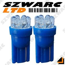 2x 501 T10 W5W 194 CAR 6 LED ICE BLUE XENON WEDGE SIDE LIGHT BULBS 12v HID UK