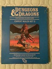 TSR Dungeons and Dragons -  Expert Rules Set 2