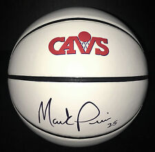 Cleveland Cavaliers #25 MARK PRICE Signed Autographed Logo Basketball COA!