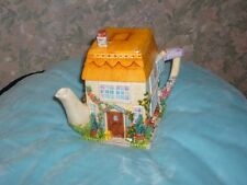 ANNIE ROWE LEONARDO COLLCTION FOX GLOVE COTTAGE TEA POT NEW BOXED