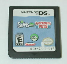 Nintendo DS Game Sims 2 Apartment Pets R5488