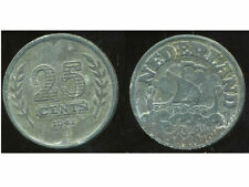 PAYS BAS  25 cent 1941