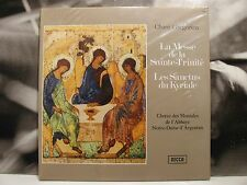 CHANT GREGORIEN - LA MESSE DE LA SAINTE-TRINITE' - JOSEPH GAJARD LP SEALED DECCA