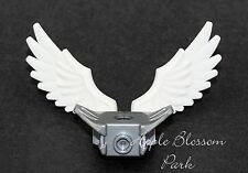 NEW Lego Chima Minifig WHITE WINGS w/Silver Minifigure Shoulder Pads -Bird/Angel