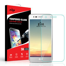 For LG Aristo Tempered Glass Real Shatterproof Clear Screen Protector With Cloth