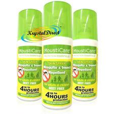 3x mousticare Mosquito & Repelente De Insectos Spray De Piel regular fuerza 50ml