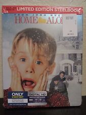 Home Alone Blu-Ray Digital HD Steelbook Exclusive Christmas John Hughes Comedy