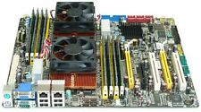 MSI ms-9661 Socket F Server Scheda Madre dual AMD Opteron 2352 4x2.1ghz 16gb ddr2