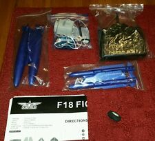 4 Channel RC F/A 18 Blue Angel Fighter  64mm EDF  Airplane  parts read descripti