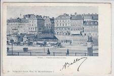 AK Wien I, Ferdinandsbrücke, Restauration Tonello, 1900
