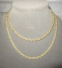 """LQQK BEAUTIFUL SOLID 14K YELLOW GOLD 37"""" LONG ROPE CHAIN Necklace 5 mm thick"""