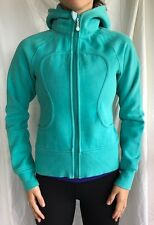 Lululemon Size 4 Scuba Hoodie Jacket Green  Coat