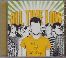 ALL TIME LOW - PUT UP OR SHUT UP - CD - NEW -