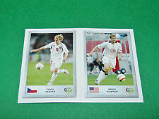 N°84 NEDVED 89 McBRIDE PANINI FOOTBALL GERMANY 2006 MINI-STICKERS