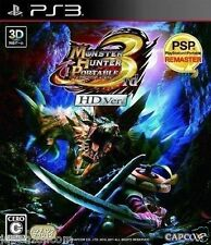 Used PS3 Monster Hunter Portable 3rd HD SONY PLAYSTATION 3 JAPAN JAPANESE IMPORT