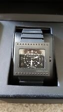 Hamilton Code Breaker Swiss Automatic ETA Black Titanium Sapphire Mens Watch