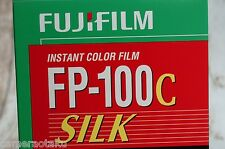 FUJI FP-100C SILK pack film for Polaroid Land cameras Peel apart type. LAST ONES