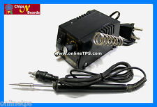 2 Pc Kit of Adjustable Temperature Micro Soldering Iron and Desoldering Pump