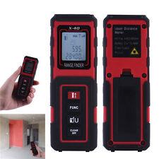 40M/131ft/1575in Digital Laser Distance Meter Range Finder Measure Diastimeter