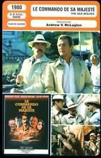 LE COMMANDO DE SA MAJESTE - Peck,Niven,Moore(Fiche Cinéma) 1980 - The Sea Wolves