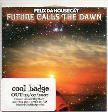 (P957) Flix Da Housecat, Future Calls the Dawn - DJ CD