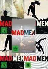 Mad Men - Die komplette Season/Staffel 1+2+3+4+5 - 20-DVD-SET-NEU