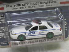 Greenlight 1/64 GREEN MACHINE NYPD New York City Police Crown Vic Hot Pursuit 12