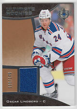 OSCAR LINDBERG 2015-16 Upper Deck Ultimate Collection  Rookie JERSEY #/149